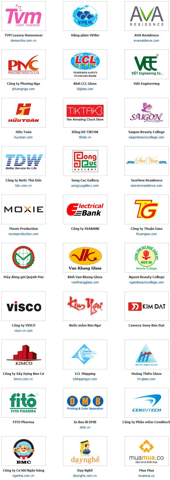 danh sách khách hàng
